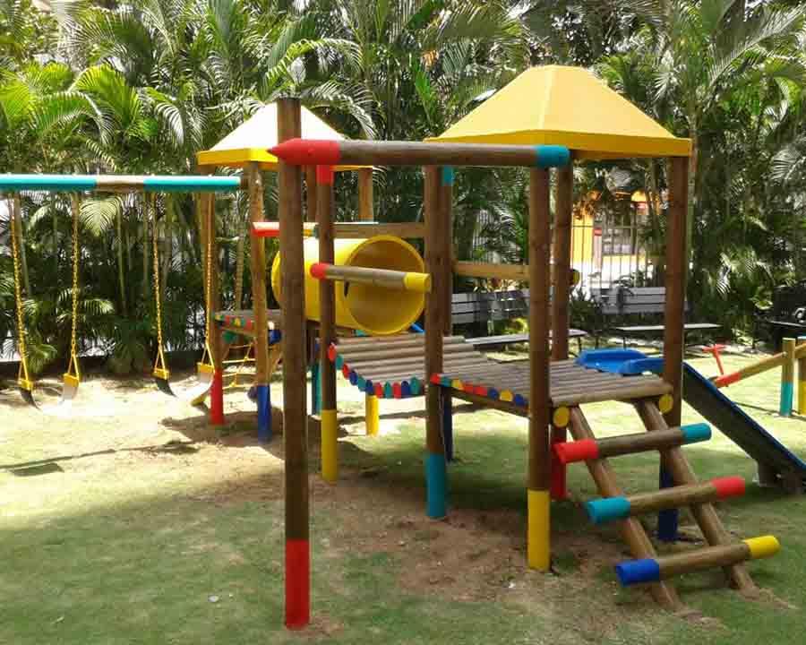 parques infantiles de madera en