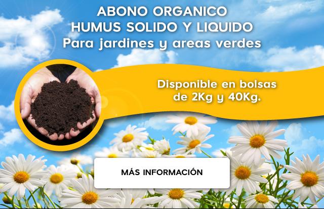 Venta de abono orgánico para jardines