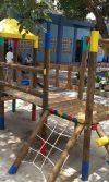 parque infantil madera bimbo