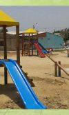 parque infantil de madera normandia