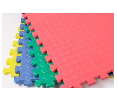 piso de foamy tapete