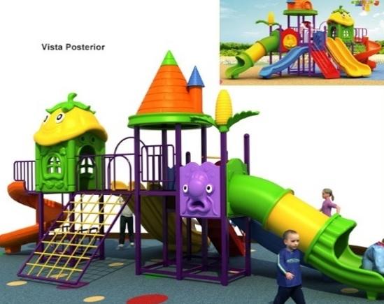 parque infantil playground lemon