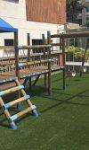parque infantil de madera Torres del Camino Real