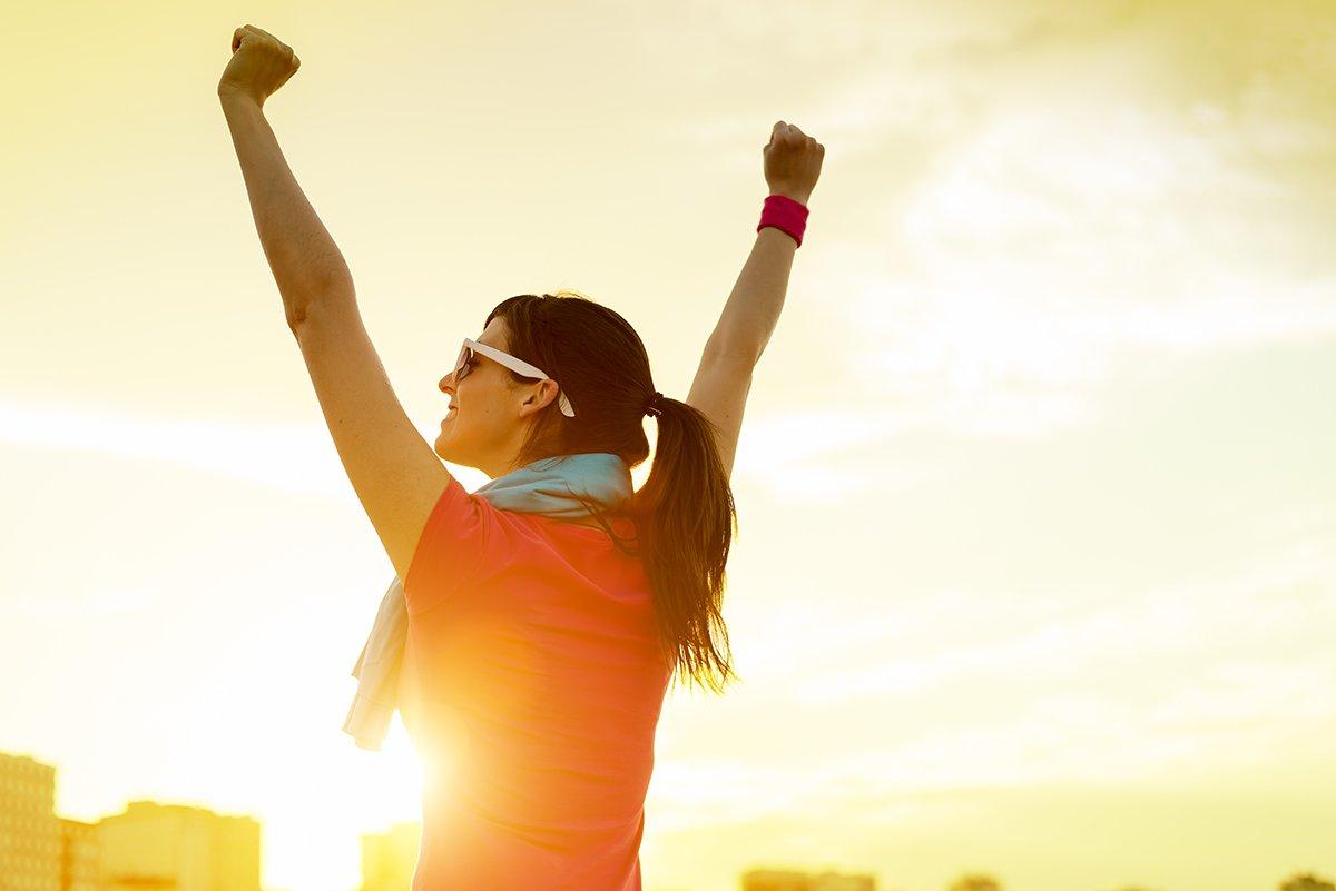 cómo ser saludable y feliz