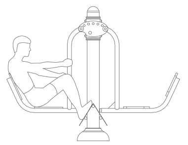Modo de uso de máquina biosaludable pres de piernas