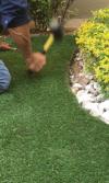 Cómo instalar grama sintética