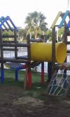 parque infantil de madera Alameda