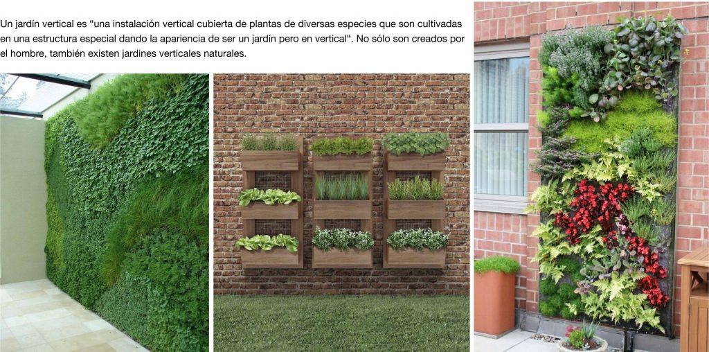 Ideas para decorar con jardines verticales