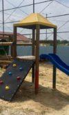 Parque infantil de madera los Robles - Soledad