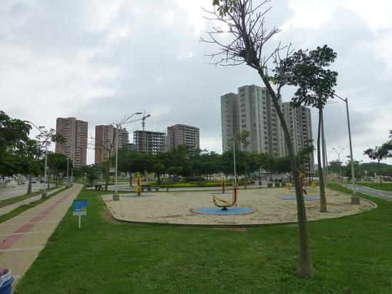 parques en barranquilla la castellana buenavista