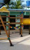 instalación parque de madera los cordobas