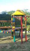 instalación de parque infantil conjunto Residencial Altos del Caujaral