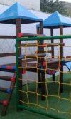 instalación de parque de madera Valledupar