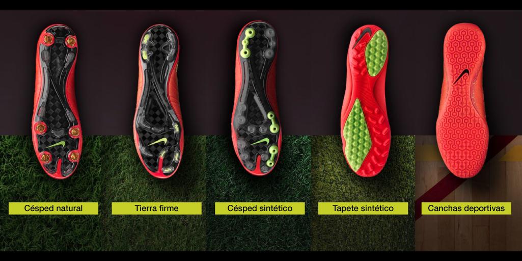 zapatos para jugar en canchas sintéticas