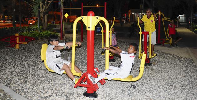parques biosaludables en Barranquilla, parque jairo cepeda