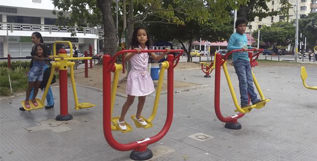 parques biosaludables en Barranquilla, parque suri salcedo