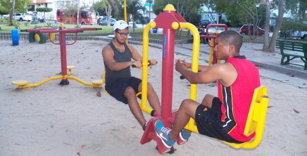 parques biosaludables en Barranquilla parque jose martí