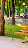 mobiliario urbano para complementar parques infantiles banca de madera y plazas públicas