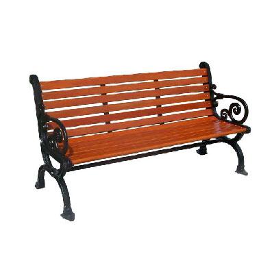 mobiliario urbano para parques banca de madera
