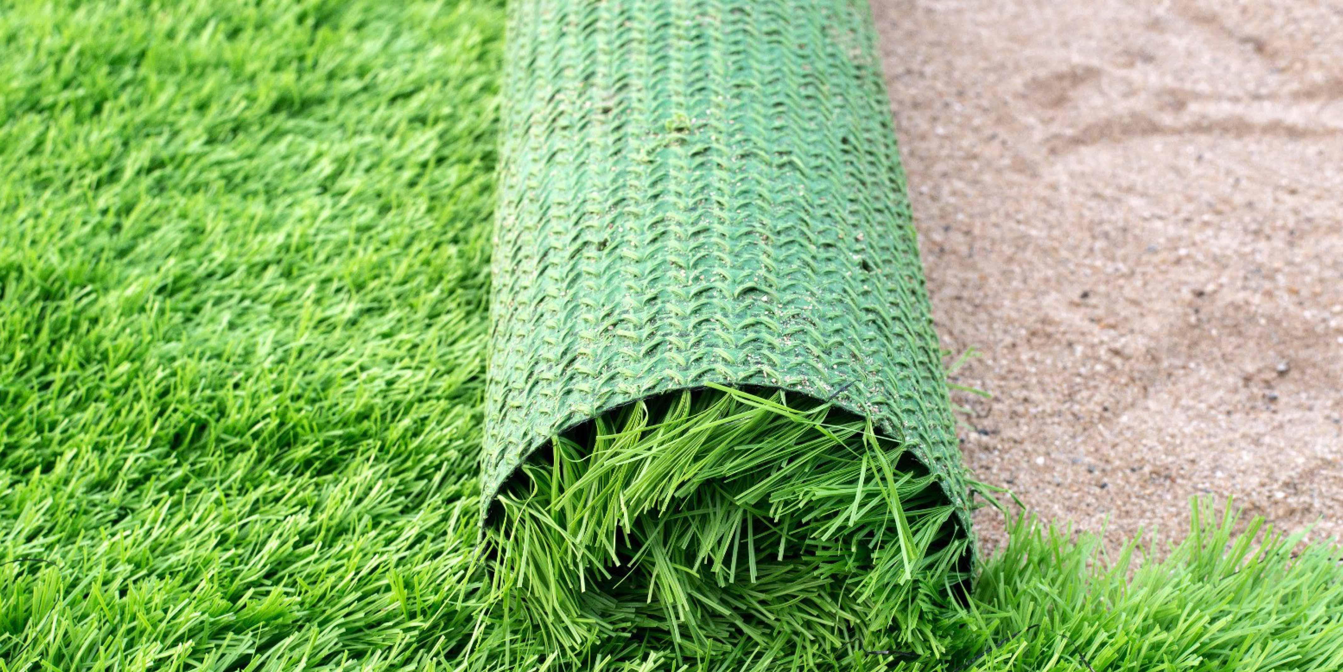 instalación de grama sintética y los tipos de suelos