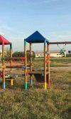 instalación de parque de madera en campo de la cruz para la empresa Valorcon