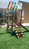 suministro e instalación parque de madera y grama - Constructora Cohala Soledad