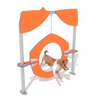 rueda para salto circuitos caninos
