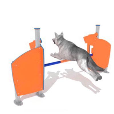 valla para salto de altura circuitos caninos