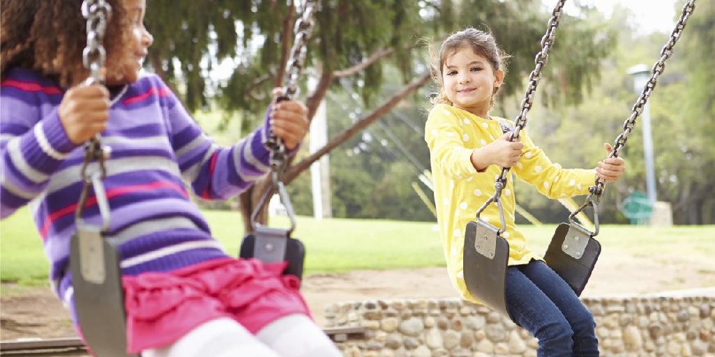 Beneficios del columpio para los niños