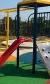 pisos de caucho granulado vaciado en sitio, caucho reciclado para pisos de parques infantiles