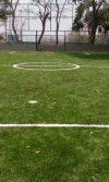 construcción de cancha de fútbol con grama sintética en Tubará