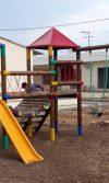 Suministro e instalación de parque de madera Ross para Valorcon en Manatí - Atlántico