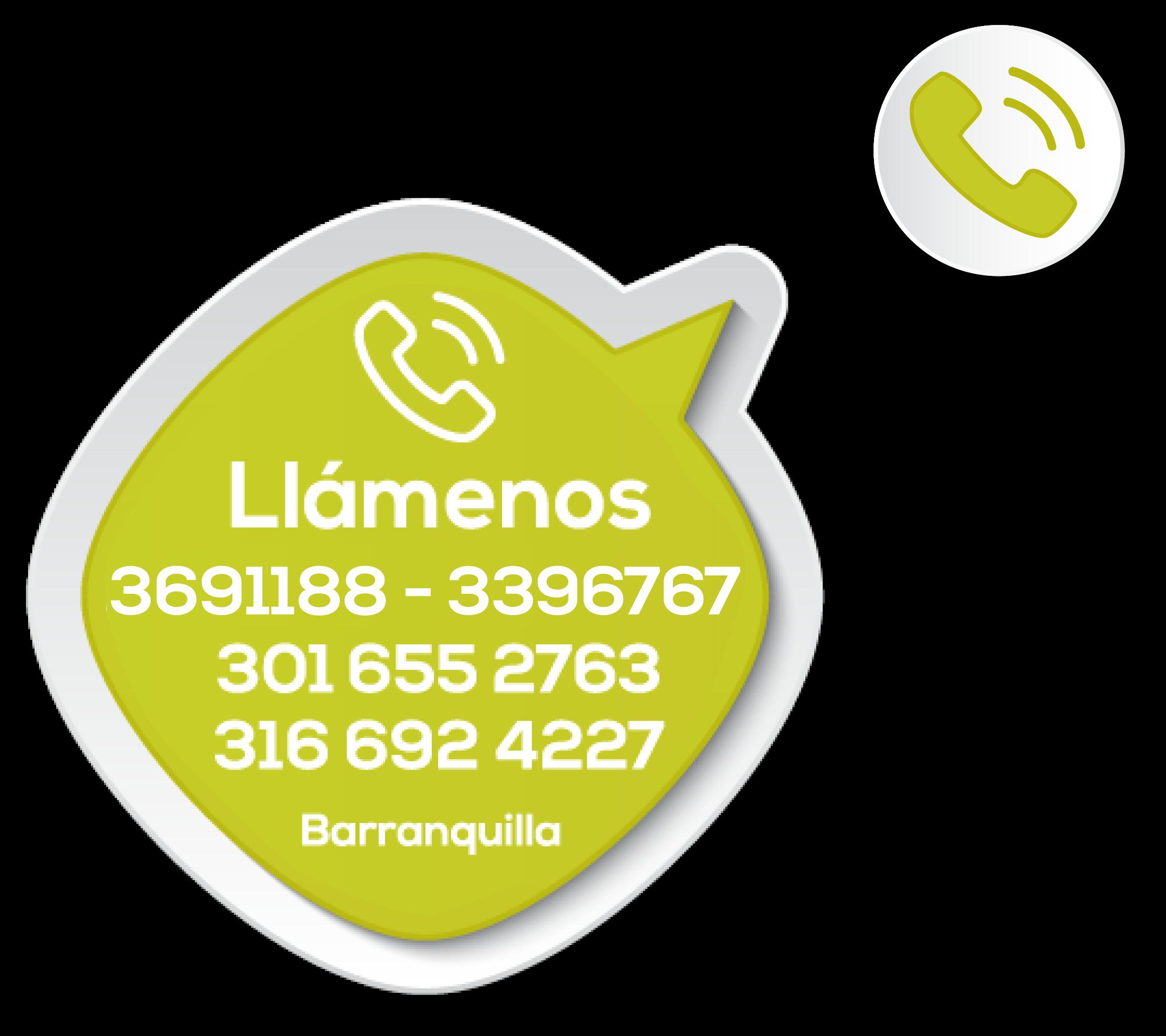 Telefonos de contacto Parque y Grama