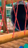 como modernizar un parque de madera