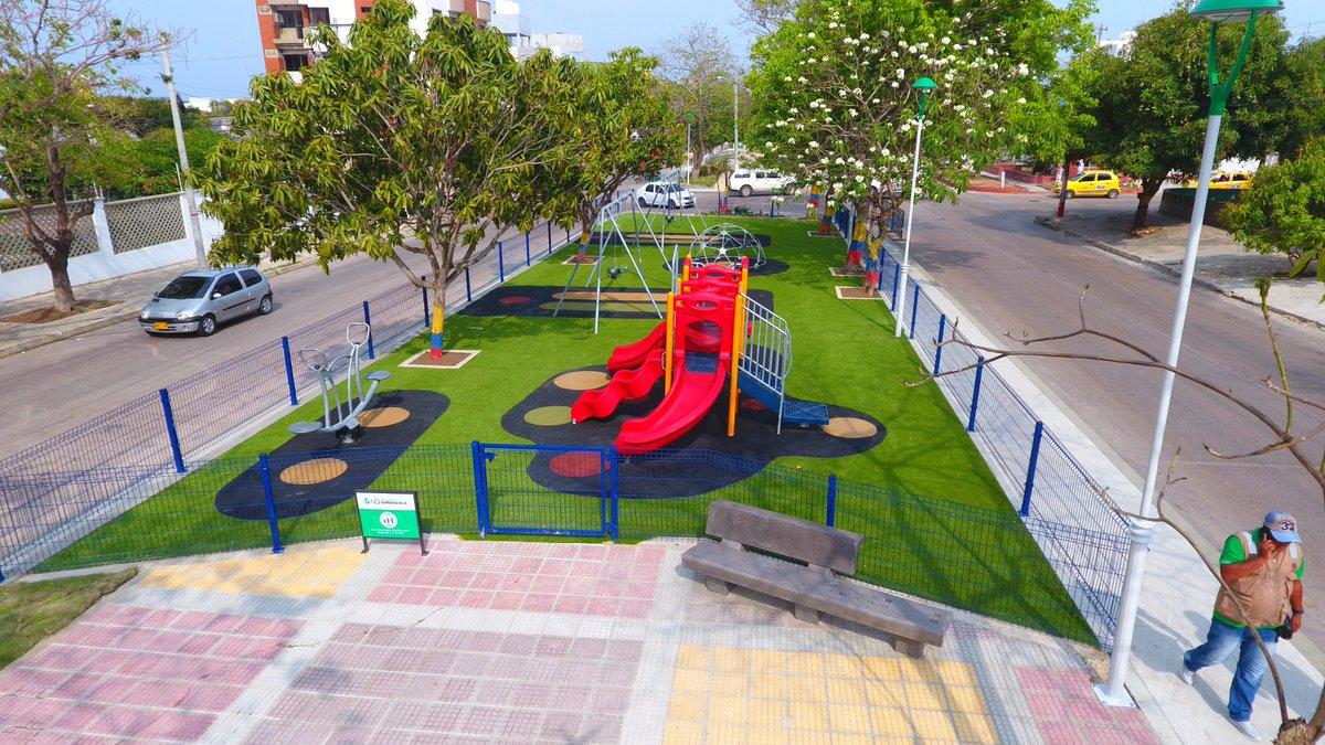 Parque-Boulevard Siete Bocas del Barrio El Recreo