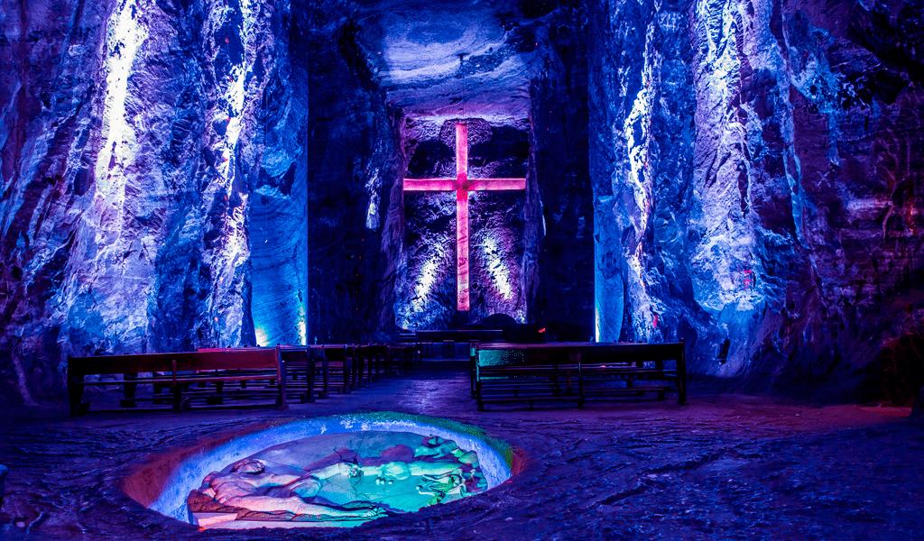 Obras arquitectónicas en Colombia Catedral de sal de Zipaquirá