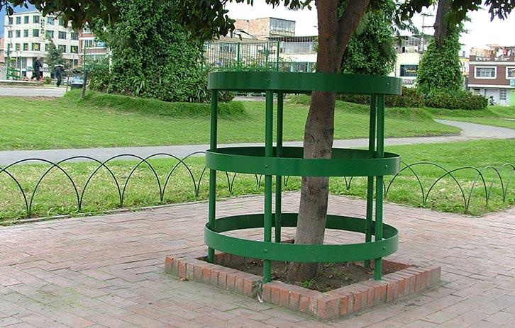 protectores de árbol accesorios del mobiliario urbano