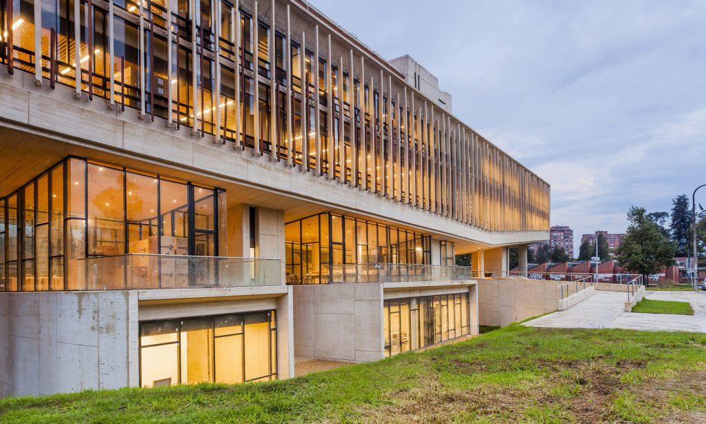 Obras arquitectónicas en Colombia Universidad Nacional de Bogotá