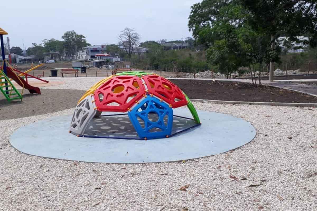 Instalación de parques complementarios – Ref: Iglú – Sincelejo